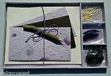 Handmade Paper Writing Stationery Set *UNIQUE GIFT SET* Lovely Gift Idea - Lilac