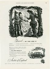 OLD 1953 ORIGINAL FULL PAGE ADVERT FOR THE AUSTIN MOTOR CAR COMPANY CARS  b181