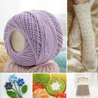 New DIY Thin Lace Yarn Crochet Cotton Knitting Sewing Machine Thread