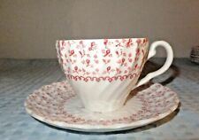 Johnson Bros. Rose Bouquet Ironstone Cup & Saucer Set