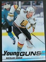 2019-20 UPPER DECK Serie 2, Nicolas Hague # 489  Young Guns Canucks Golden Night