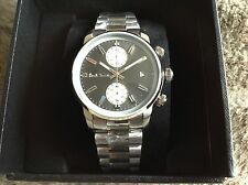 GENUINE Paul Smith Chronograph Watch P10033 (£299rrp) with box and tags