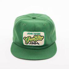 John Deere Grand Slam 1984 VTG Patch Snapback Cap Hat  Louisville MFG  USA