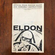 Eldon Vintage Official Road Racing Guide and Assembly Instructions 1/32 Scale