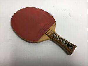 Vintage SportCraft Table Tennis Paddle Racket Bat Hong Kong Made Back Side  Soft