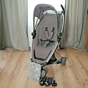 Quinny Zapp Buggy Kinderwagen  inkl Maxi Cosi Adapter + Regenverdeck