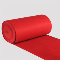 40ft Celebrity Floor Runner Red Carpet Party Wedding Disposable Scene Decoration