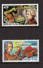 Mali MNH 1981 Music, Musician Mozart set mint stamps