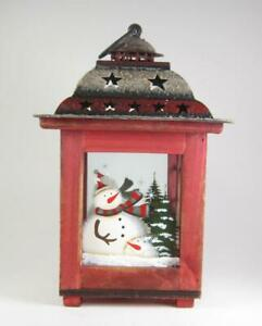 Snowman Candle Lanterns For Sale In Stock Ebay