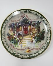 "Glenna Kurz Bradex Welcome Home ""Hold Fast To Your Family"" Plate #6195A"