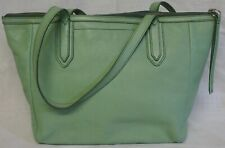 Fossil Sydney Leather Shopper, Tote, Overnight Bag - Mint Green - FAB COLOUR