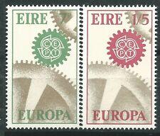 IRLANDA EUROPA cept 1967 Sin Fijasellos MNH