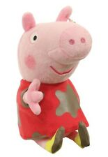 Peppa Pig Muddy Puddle Beanie Plush Toy by Ty 15cm 6 Inches