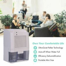800ml Dehumidifier Air Dryer Moisture Absorber Clothes Air Humidistat & Purifier