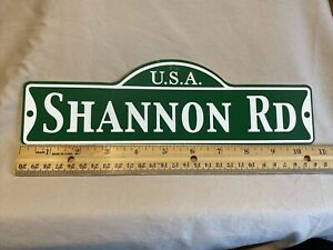 Green Street Room Sign Personalized  ~ USA  Shannon Rd~ Stocking Stuffer ~