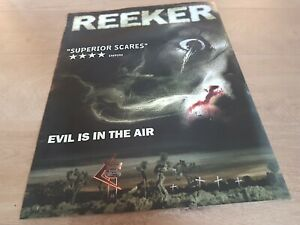 REEKER .... rare horror 2005 UK ORIGINAL MOVIE POSTER