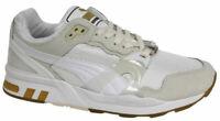 Puma Trinomic XT 2 Mens Trainers White Gold Mesh Lace Up 358138 02 D71