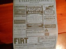 L'illustrazione italiana 40 del 1916 venezia carso alpi di fassa