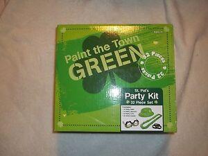 Saint Patrick's Day Party Kit 32 pieces