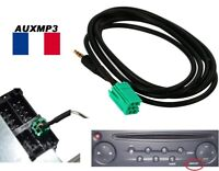 Cable adaptateur mp3 autoradio RENAULT update LIST 6 pin, megane 2 scenic 2 aux
