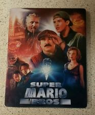 Super Mario Bros. Blu-ray Limited Edition Steelbook Second Sight UK Region B OOP