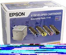 original Epson Tonerset S051110 BK,C,M,Y C13S051110 4 Toner C900 LP1500 A-Ware