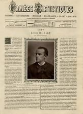 Goupil, France, Camées Artistiques, Louis Morlet vintage print Photoglyptie
