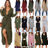 Women Casual Long Sleeve Maxi Dress Ladies Loose Long Tops Blouse Shirt Dresses