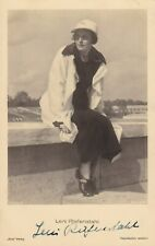Leni Riefenstahl original hand signed Early Vintage Photo Autograph card 1930s