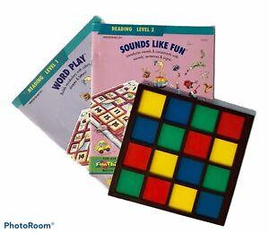 FunThinkers Educational Insights Tile Frame Grid Decoder & Workbook Fun Thinkers