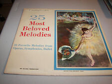 25 Most Beloved Melodies Various LP NM ALL-DISC BMN