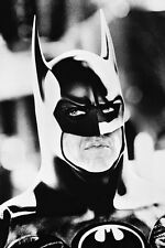 BATMAN MICHAEL KEATON 24X36 POSTER CLOSE UP IN BATSUIT