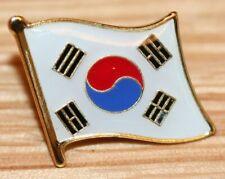SOUTH KOREA Korean Flag Country Metal Lapel Pin Badge