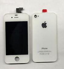 Apple iPhone 4s Display + Backcover weiss Komplettset neu