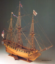 "Corel wooden model ship kit: the ""HMS Unicorn"""