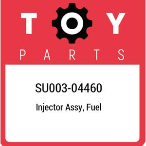 SU003-04460 Toyota Injector assy, fuel SU00304460, New Genuine OEM Part