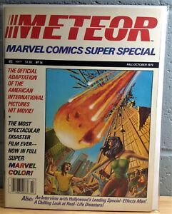 MARVEL SUPER SPECIAL #14 - METEOR VF/NM