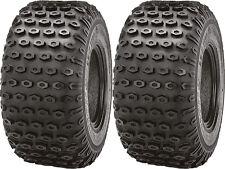 Pair 2 Kenda Scorpion 20x10-8 ATV Tire Set 20x10x8 K290 20-10-8