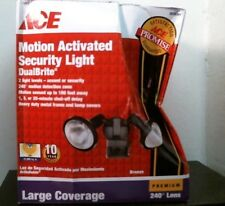 Ace 3038361 Motion Activated Security Light, DualBrite, Free Shipping
