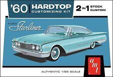 AMT 1960 FORD STARLINER Hardtop 2in1 stock or custom Model Kit 1/25