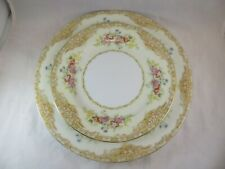 Vintage NORITAKE china JACQUIN 66885  Dinner and Salad/Bread Plate