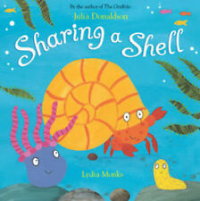 Julia Donaldson Story Book: SHARING A SHELL - Paperback - NEW