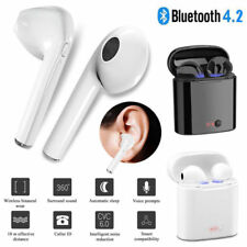 i7s Twins Wireless Bluetooth Earphone Headphone Earbuds For iPhone 8 7 6s 6 Plus