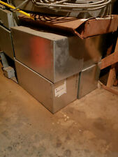 Electrical Enclosure 12 X 12 X24 Screw Cover Galv Steel Box