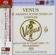 V.A.-VENUS THE AMAZING SUPER AUDIO CD SAMPLER VOL.9 - PIANO...-JAPAN SACD J76