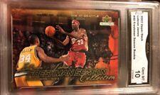 Lebron James ROOKIE CARD 2003-04 Freshmen Season Redemption Gem mint 10 #40