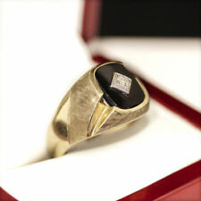 Onyx 10k Rings for Men