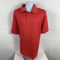 Champion Men's XXL Polo Shirt 2XL Short Sleeve Business Casual Golf Pink