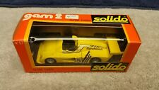 Vintage Solido # 57 Alpine Turbo Yellow 1/43 Scale France Mint Boxed