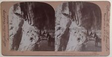 Gorge du Loup Cannes France Photo Stereo Vintage Citrate